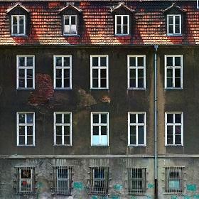 Zdjęcie ortometryczne elewacji budynku
